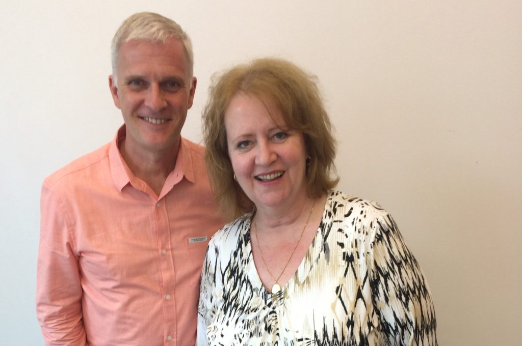 Toby Aldren and Alison Price at the Vancouver Astrology Summer Workshop 2016