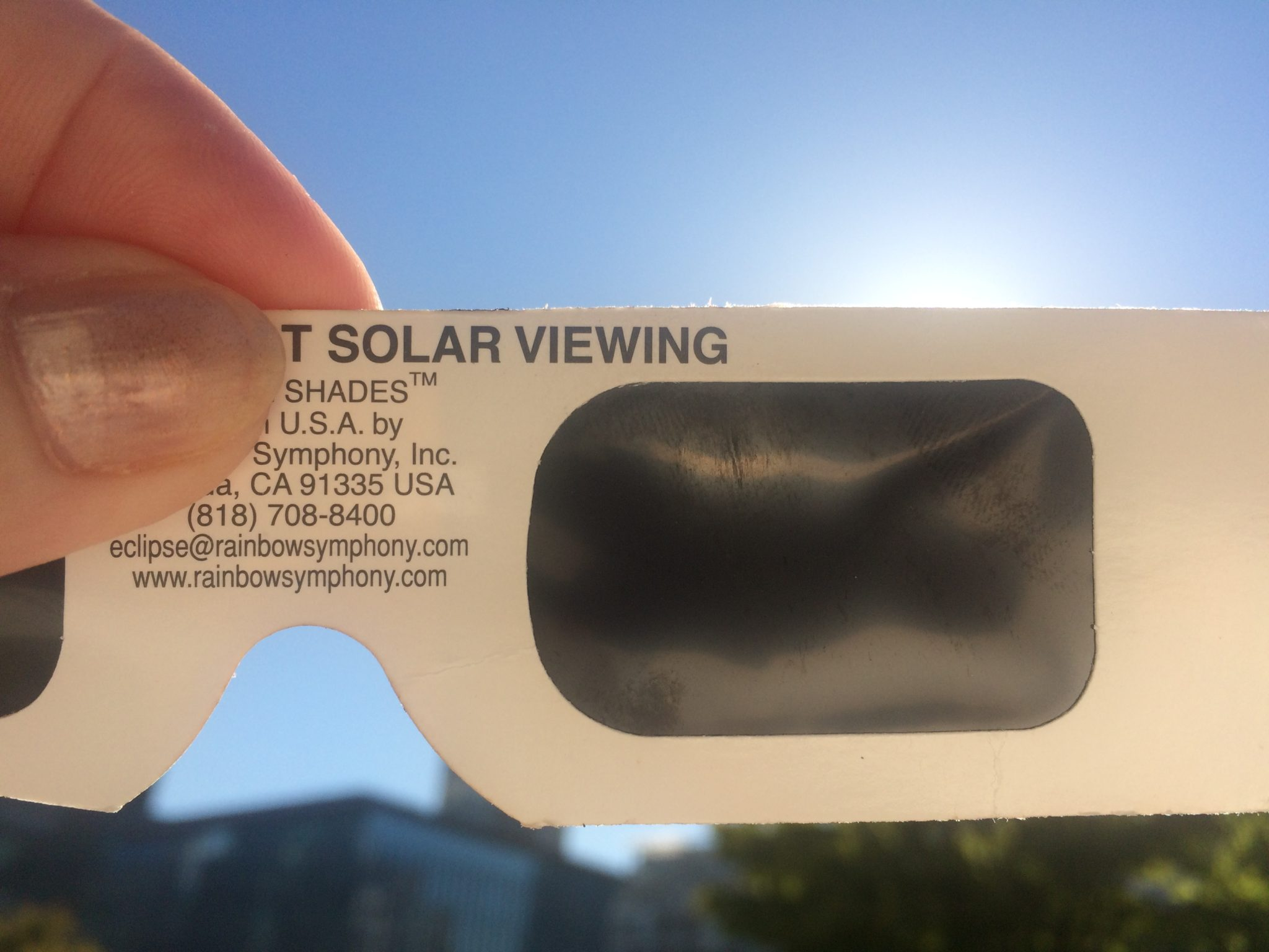 Solar Eclipse Experience from Vancouver with Alison Price – August 21, 2017