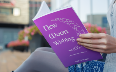New Moon Wishing – a self-care guide book for wishful thinkers
